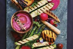 Vegetables for foodstyling